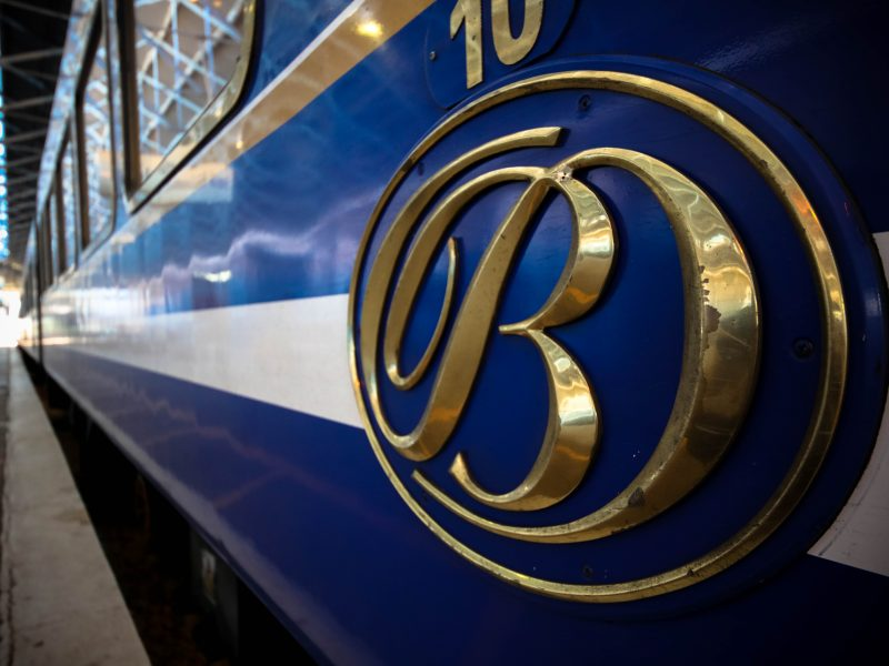 New Sleep Story – The Blue Train