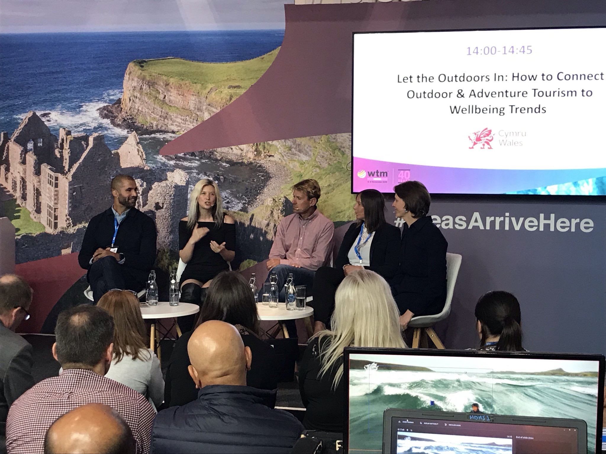 Phoebe helps Visit Wales launch global trends for 2020